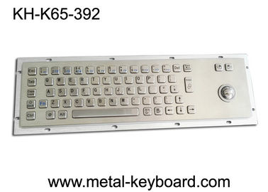 China IP65 industrieel PC-Toetsenbord, Voorraad Handeltoetsenbord 25mm Lasertrackball fabriek